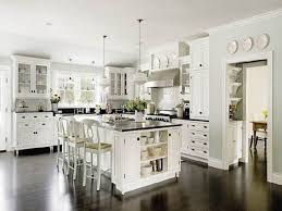 image of what color cabinets with dark wood floors design ideas