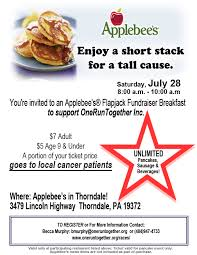 Fundraising Flyer Sample Flapjack Fundraiser Flyer Template 30 Images Of Applebees Flapjack