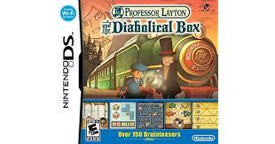 Amazon.com: Professor Layton and the <b>Diabolical Box</b>: Unknown ...