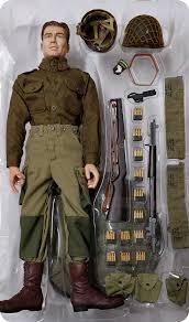 Dan Summers Platoon Leader, 101st Airborne Division, Normandy 1944 (1st  Lieutenant) Dragon Action Figure - Machinegun