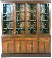 glass fronted bookcases glass front bookcase lawyer bookcases deetouchco used glass fronted bookcase for