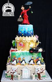 Mary Poppins Showpiece By Jean A Schapowal Cakes Cake