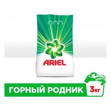 <b>Стиральный порошок автомат</b> «Горный родник» <b>Ariel</b>, 3 кг ...