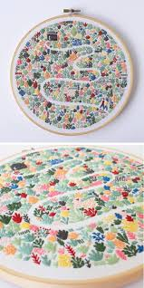 Modern Embroidery Patterns Highlight the Collaborative Nature of the Craft