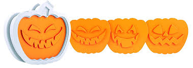Jack O Lantern Amazoncom Tovolo Jack O Lantern Cookie Cutter Set Of 6