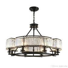 furniture captivating black chandelier lamp 7 vintage loft style crystal lighting fixture black chandelier lamp
