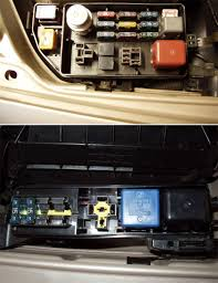 my car s under hood fuse box and it s replacement fuses however the diagram on op s cover matches his 96 fusebox layout which uses the smaller atm fuses