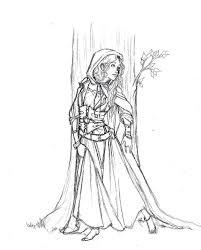 Medieval Textiles Coloring Page Within Princess Coloring Pages ...