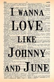 78 best \u003c3 walk the line johnny cash june carter \u003c3 images on Wedding Recessional Songs Johnny Cash johnny and june dictionary print upcycled by mapletreeproductions, $8 00 Traditional Wedding Recessional