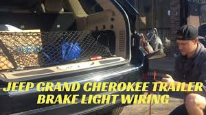 jeep grand cherokee trailer brake light wiring
