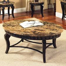 round marble coffee table style