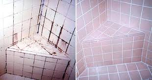 how to clean tile grout in bathroom grout cleaner clean mildew bathroom tile grout