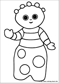 Small Picture In the night garden coloring pages on Coloring Bookinfo