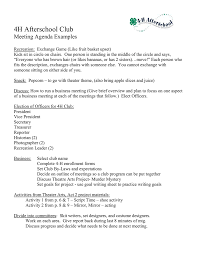 Examples Of Minutes Taken At A Meeting Example Of Minutes Taken During A Meeting Format Writing Pdf