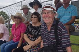 Wendy Henry, Sue Lloyd and John Lloyd watching the equestrian ... | Buy  Photos Online | Chronicle