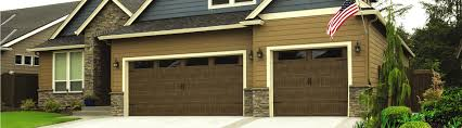 brown garage doors with windows. Classic Steel 8300 - Sonoma Ranch Panel Mission Oak Stain Clear 4 Windows Brown Garage Doors With I
