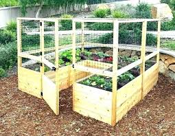 building a raised bed garden plans designs plan vegetable design diy sleepers on slope