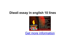 diwali essay in english lines google docs