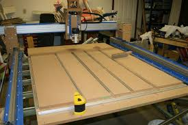 build cnc router. 3 axis cnc router with mdf carriages and lead screws. build cnc