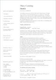 Dental Resume Format Pohlazeniduse