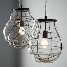 pendant light fixtures blown glass. Organic Blown Glass Pendant Light Fixtures D