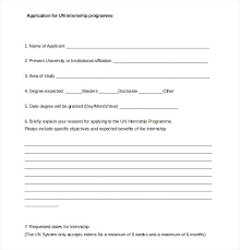 Un Internship Cover Letter Internship Application Letter Here Is A