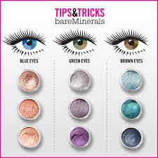 Eye Color Makeup Chart Makeupview Co