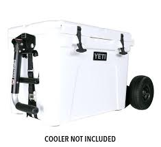 motorized cooler cart on wheels rambler fit yeti tundra and coolers product angle