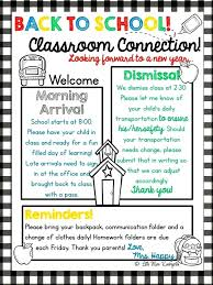 Welcome Back To School Letter Templates Meet The Teacher Template Editable To Letter Buildingcontractor Co