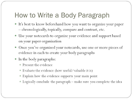 how to write a essay conclusion paragraph   writing good essay