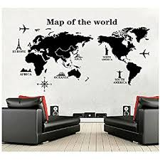 world map wall decal educational decals world map wall sticker vinyl wall art on wall decal vinyl art stickers decor with world map wall decal educational decals world map wall sticker