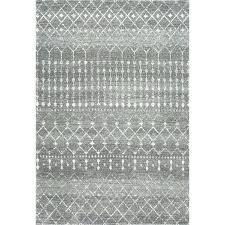 gray area rug 6x9 dark grey hand knotted wool off white gray area rug 6x9