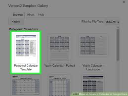 Create A Calendar Template The 2 Best Ways To Create A Calendar In Google Docs Wikihow