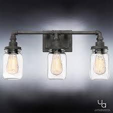 industrial bathroom lighting. UQL2662 Industrial Bathroom Light, 11\ Lighting