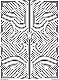 Printable 42 Geometric Coloring Pages 9749 - Geometric Coloring ...