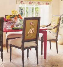 design idea 1 chair 2 fabrics tidbits twine pertaining to dining room chairs upholstery fabric
