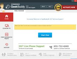 Pc Support Specialist Comodo Geekbuddy Software V4 18 Starting The Software The