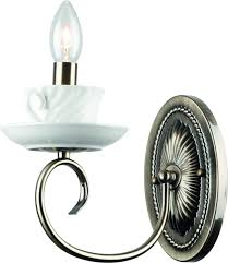 <b>Бра Arte Lamp</b> Teapot <b>A6380AP</b>-<b>1AB</b>, цвет: бронза