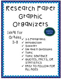 Research Paper Graphic Organizer Teaching Resources Teachers Pay