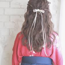 成人式卒業式におすすめ着物に合わせたいヘアスタイルまとめhair