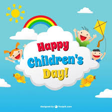 How To Make Children S Day Chart Funny Childrens Day Card In Colorful Style Vector Free