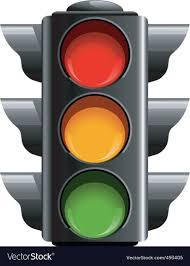 Traffic Light Mood Chart Traffic Light Royalty Free Vector Image Vectorstock