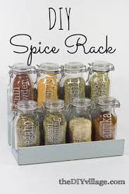 Decorative Spice Jars DIY Spice Jar Rack theDIYvillage 2