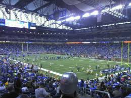 seating view for ford field section 112 row 31 seat 23