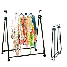 Collapsable Coat Rack Magnificent Collapsible Garment Rack Collapsible Coat Rack Medium Size Of Rummy