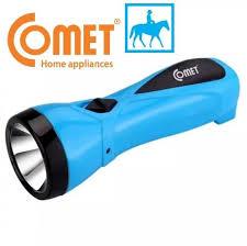 Đèn pin sạc LED thời gian sáng 8h 0.5W 400mAh Comet CRT345