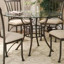 round glass table top with molten earth basecramco inc wolf with regard to dining room sets glass table tops