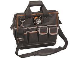 klein tools 7111008 tradesman pro organizer lighted tool bag 31 pocket