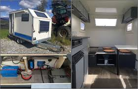 not only do both systems use victron energy products but i also discovered werner has gone victron everywhere equipping his micro off grid trailer too