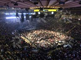 concerts at madison square garden. madison square garden section 201 seat view concerts at l